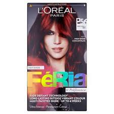 The feria colour I applied first.