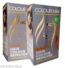 The colour b4 I used is extra strength which is recommended for dark colours like blacks, reds and browns. It cannot guarantee to come back to your natural colour if you have bleached your hair in the past.